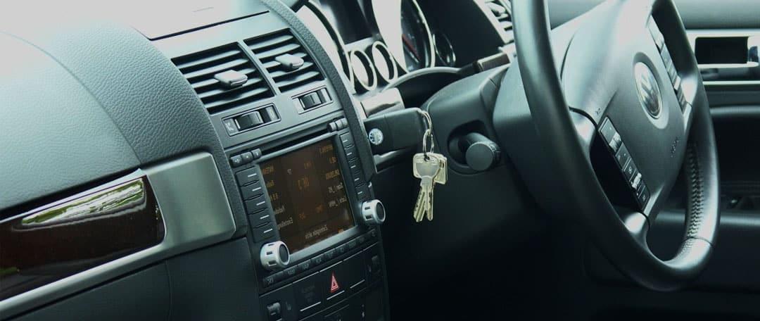 trapped car keys
